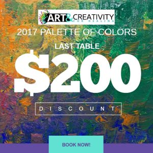 2017 Palette of Colors gala last table discount