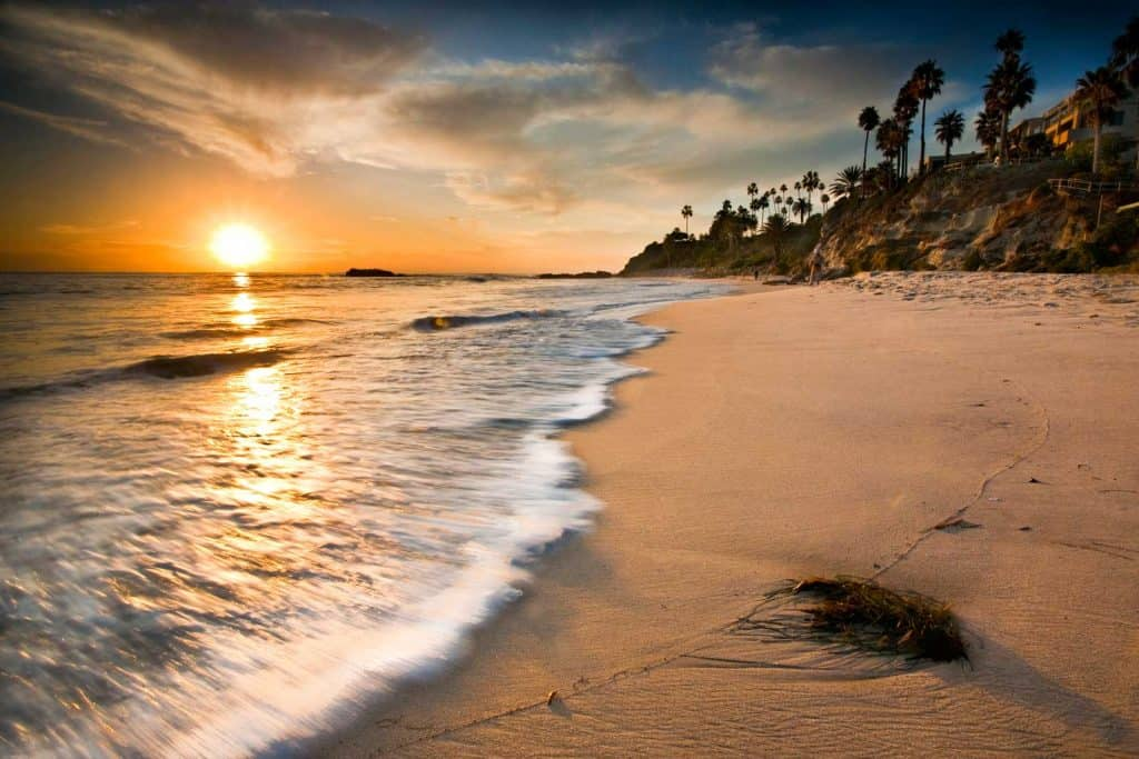 Orange County California beach