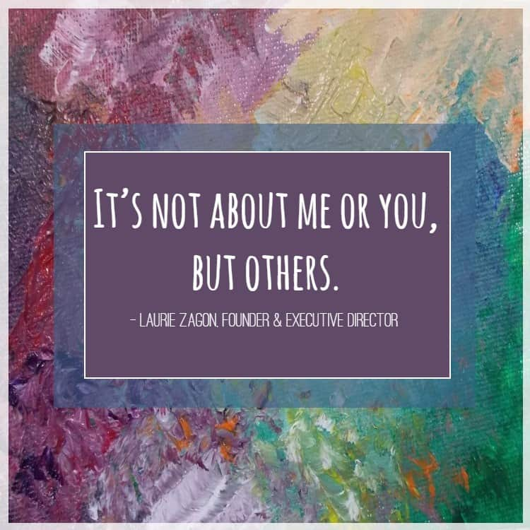 Laurie Zagon quote