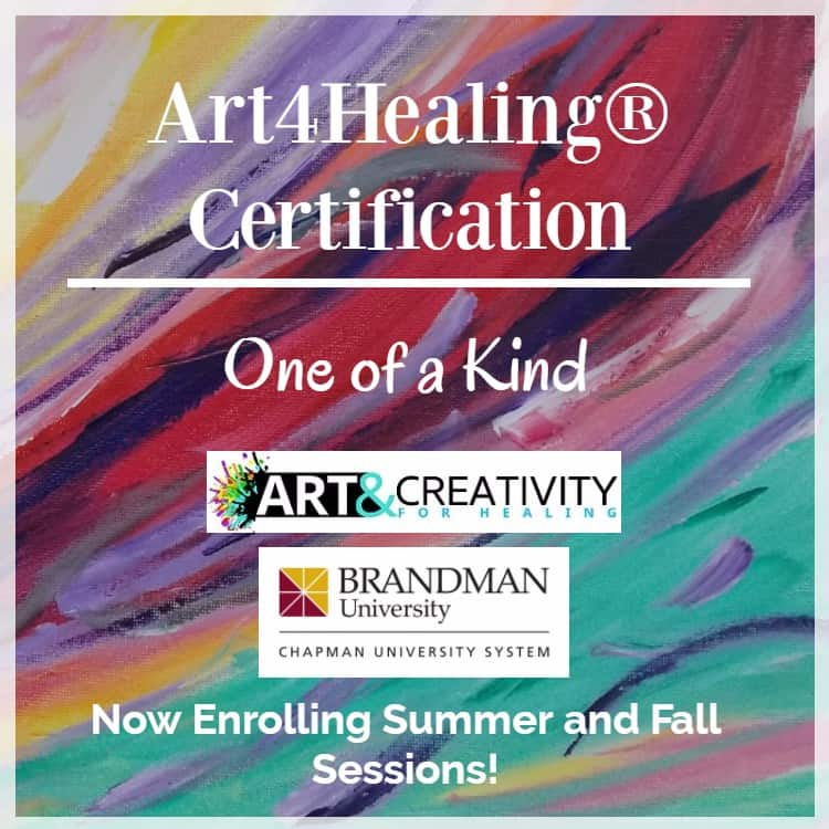 Art4Healing Certification August