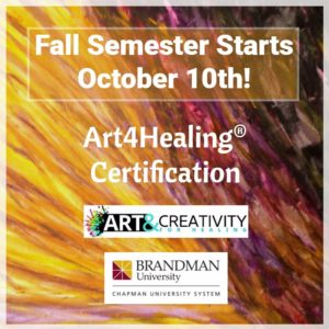 Art4Healing Certification Fall 2017