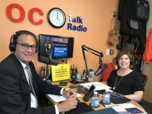Laurie Zagon interview on OC Talk Radio