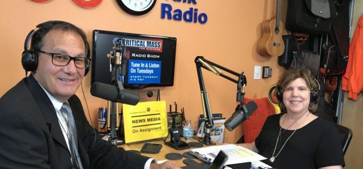 Watch Laurie Zagon's interview on OC Talk Radio