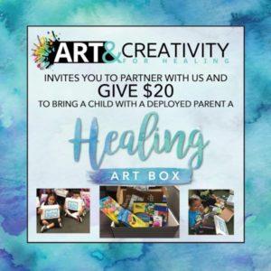 healing art box donation