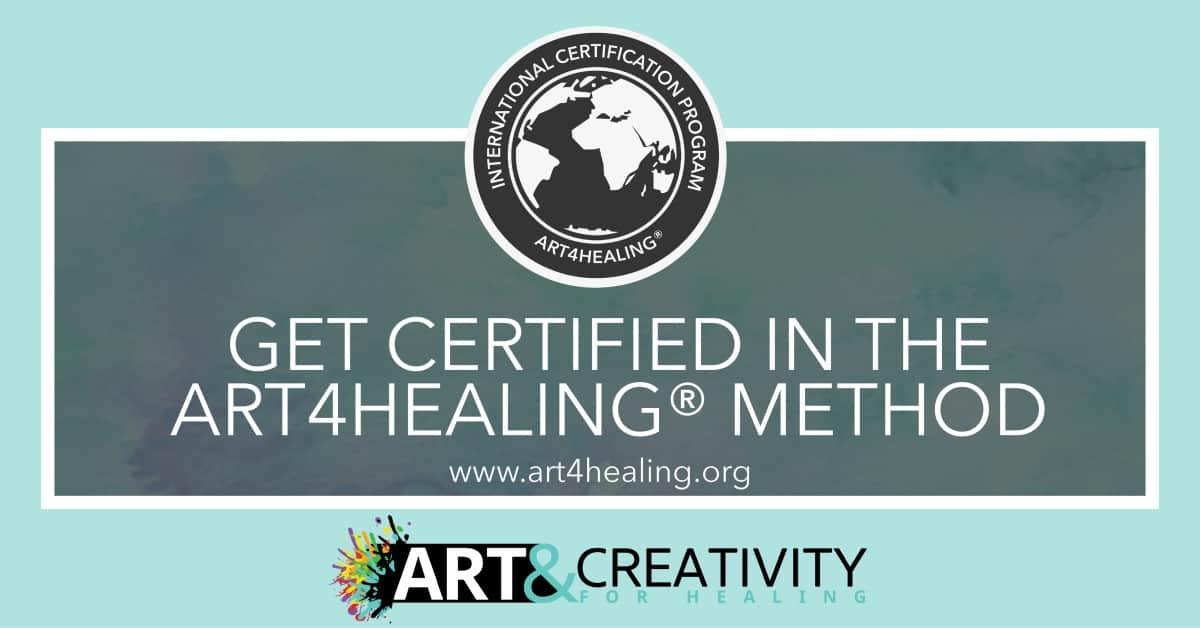 get art4healing online certification