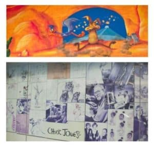 chuck jones creative center wall murals