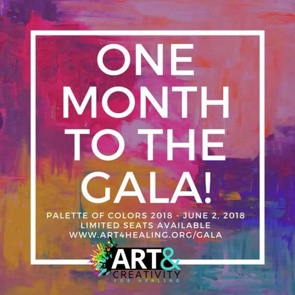 palette of colors auction and gala