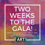 two weeks to palette of colors