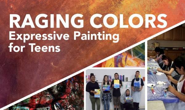 raging colors teen program